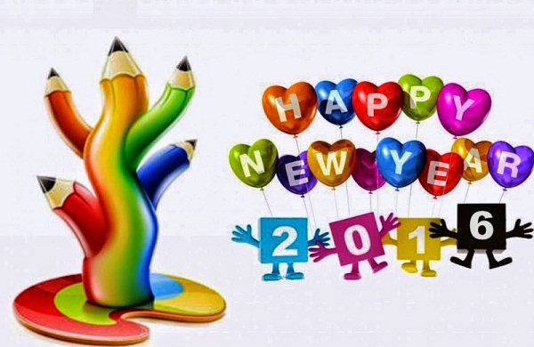 happy new year messages in english 2016